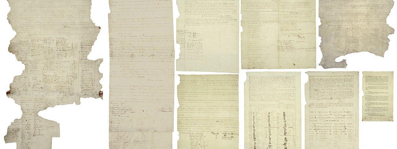 Waitangi Treaty, photo: Archives NZ
